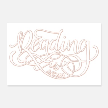 Read Reading is sexy - Poster