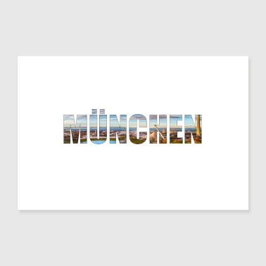 Muenchen - Poster 30x20 cm