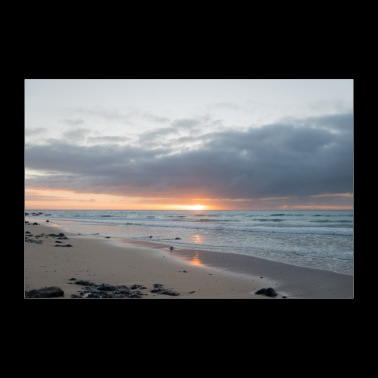 Sunrise over the Canary islands - 30x20 cm Poster