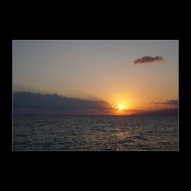 Sunrise over Crete - 30x20 cm Poster