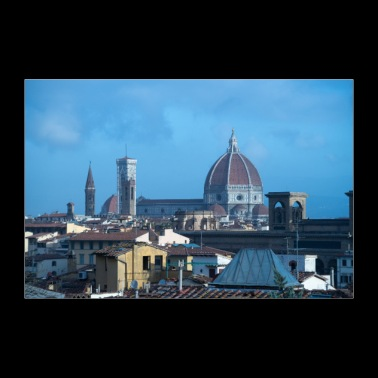 Rooftops of Florence Italy - 30x20 cm Poster
