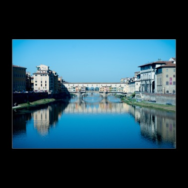 Bridges of Florence Italy II - 30x20 cm Poster