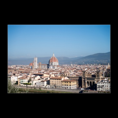 Roof tops of Florence Italy II - 30x20 cm Poster