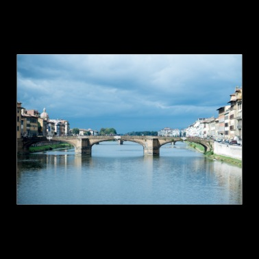 Bridges of Florence Italy IV - 30x20 cm Poster