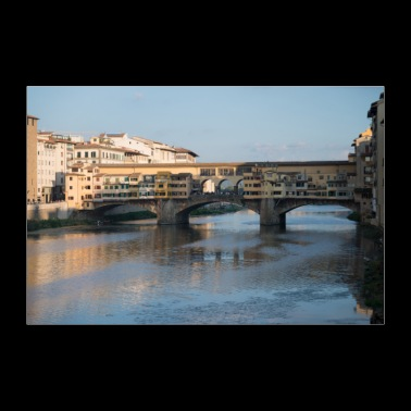 Bridges of Florence Italy VI - 30x20 cm Poster