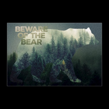 Wilderness Bears poster - 30x20 cm Poster