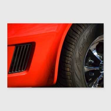 Sports car - 30x20 cm Poster