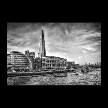 The Shard Building London - Plakat o wymiarach 30x20 cm