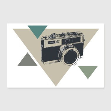 camera - 30x20 cm Poster