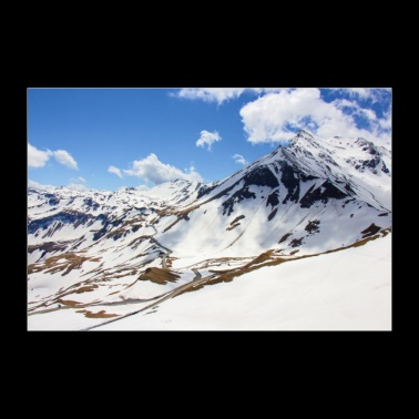 Grossglockner High Alpine Road - 30x20 cm Poster