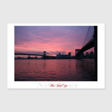 Nyc New York City (Affiche) - Poster 60 x 40 cm