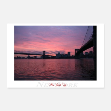 Nyc New York City (Poster) - Poster 60x40 cm