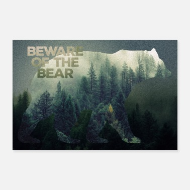 Wilderness Wilderness Bears poster - Poster 24 x 16 (60x40 cm)