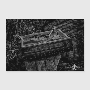 Lost Place - Turntable 2 - Poster 24 x 16 (60x40 cm)