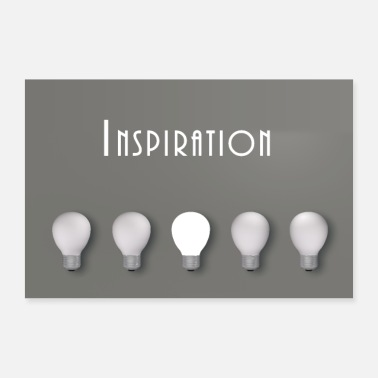Inspiration inspiration - Poster