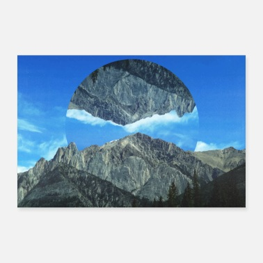 Image Photo Images Poster Geometry Landscape - Poster 24 x 16 (60x40 cm)