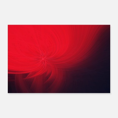 Abstract Abstract Abstract Art Pattern Blossom - Poster 60x40 cm