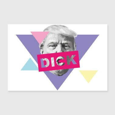 Los Angeles TRUMP dick - Poster 60x40 cm