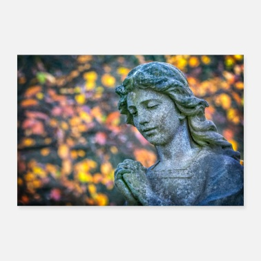 Angel An Angel in Autumn - Poster 24 x 16 (60x40 cm)