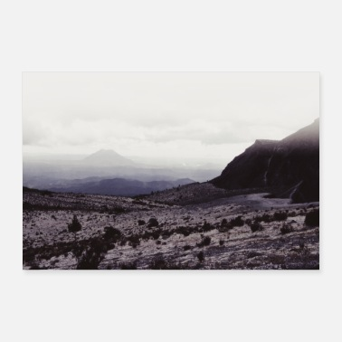 Deserto Desert Mountain / Analog Photography - Poster 60x40 cm
