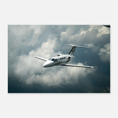 Jet Avion Citation C510 Jet - Poster 60 x 40 cm