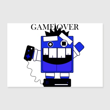 Game Over Gaming, Game Over Tippi - Poster 24 x 16 (60x40 cm)