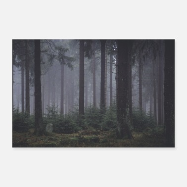Forest 7 - Poster 24 x 16 (60x40 cm)
