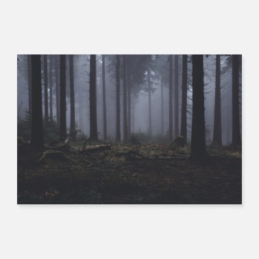 Forest 10 - Poster 24 x 16 (60x40 cm)
