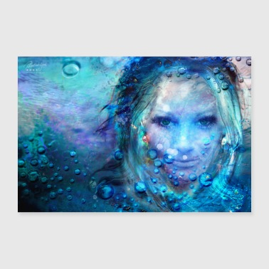 Color fantasies - security - - Poster 24 x 16 (60x40 cm)