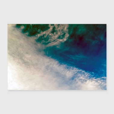 Cloud Clouds underwater - Poster 24 x 16 (60x40 cm)