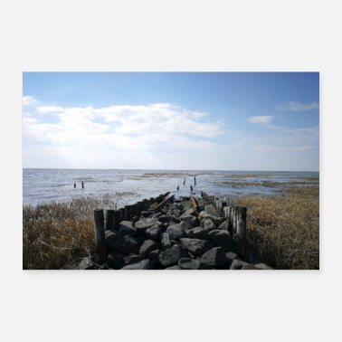 Havet Trail til havet - Poster 60x40 cm