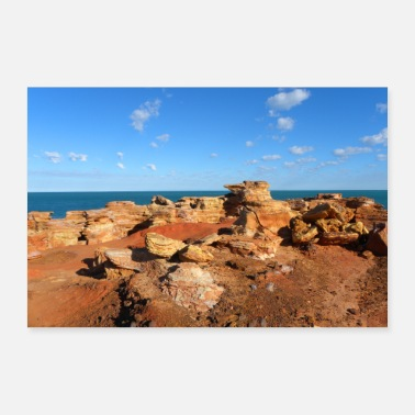 Western Gantheaume Point Broome West-Australië - Poster 60x40 cm