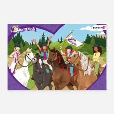 Puzzle Schleich Horse Club Heart Frame - Poster 24 x 16 (60x40 cm)
