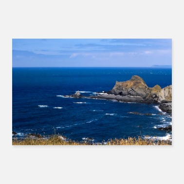 Scenic Cornish Coast - Poster