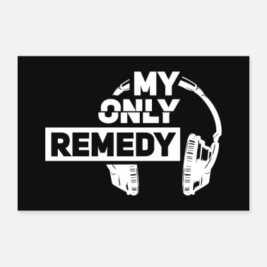 Mp3 Music is my remedy - Poster