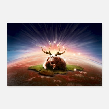Bible The sevenfold horned - Poster