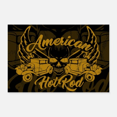 American American Hot Rod - Poster