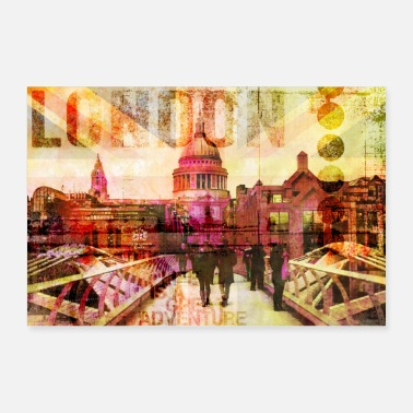 Holiday Destination London - Poster