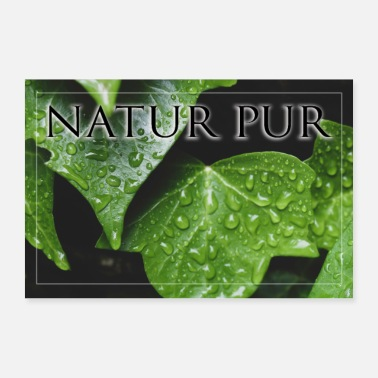Photoshop Pure nature poster - Poster