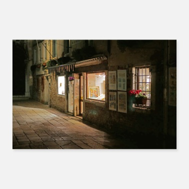 Studio Venice at night - studio in the Centro Storico - Poster