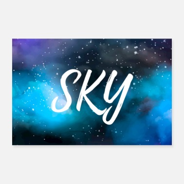 Galaxey SKY Galaxy poster - Poster