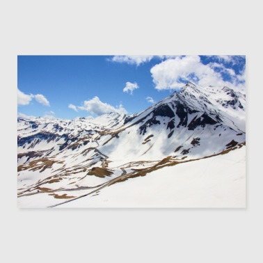 Grossglockner High Alpine Road - Juliste 60x40 cm