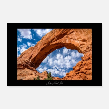 Windows Arches National Park - Utah - (USA) - Poster