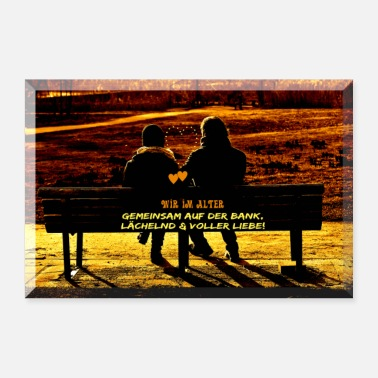 Age Poster bank love aging - together - Poster