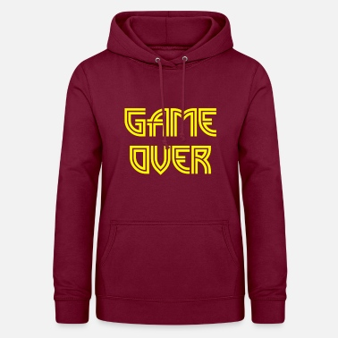 Game Over Game over - Sweat à capuche Femme