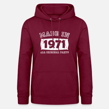 Birth Birth year birth born 1971 - Women's Hoodie
