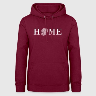 Old Town HOME - Nördlingen, old town, white - Women's Hoodie