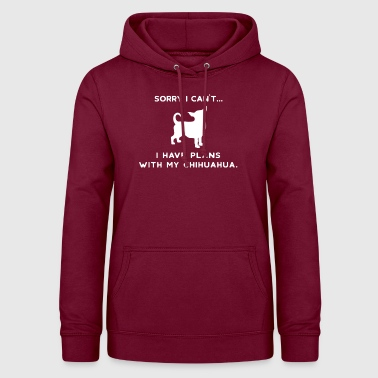 Chihuahua | Chihuahuas Chien Amour Humour - Sweat à capuche Femme