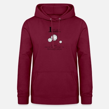 Beach Volleyball Volleyball, beach volleyball, volleyball girls - Frauen Hoodie