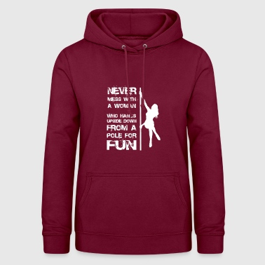 Pole dance woman gift - Women's Hoodie